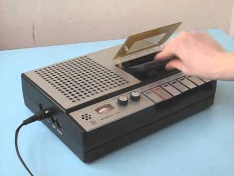 "Магнитофон электроника - Кассетный магнитофон  ""Электроника-324 "" (Elektronika-324 Tape Recorder) ."