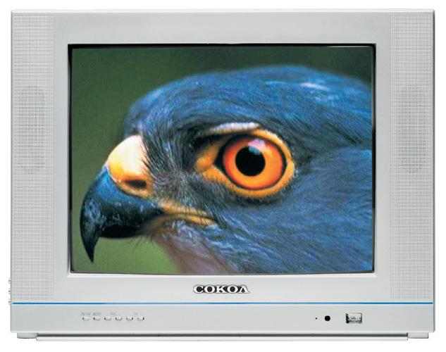 Дизайн телевизора довольно приятный.  Отметим не так часто встречающееся наличие компонентного входа у телевизора...