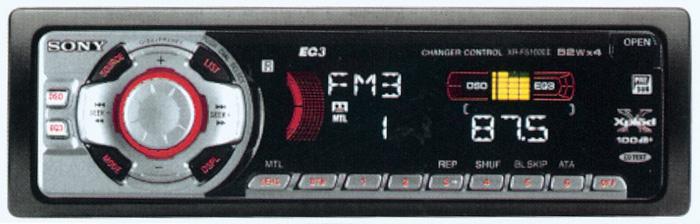 автомагнитола sony cdx-f5500x инструкция