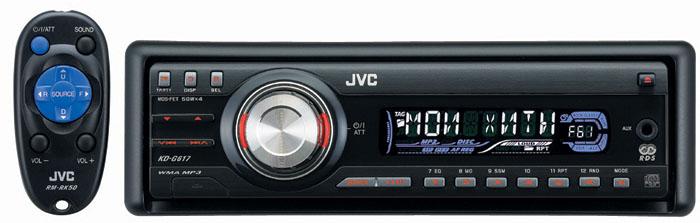 JVC KD - G617 электрическая