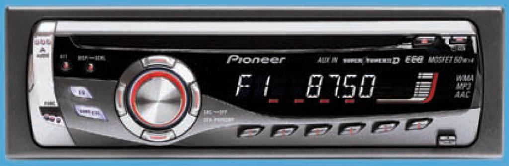 Этот CD-ресивер из плеяды фирменных моделей с самобытным дизайном (основоположник - DEH-P40MP), и...