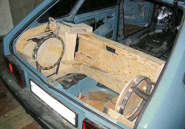 ВАЗ 2109, cтудия TS-VIP, г. Киев Недостающий объём для сабов взят у центрального подиума - Lada Cars Club - LADA.CC