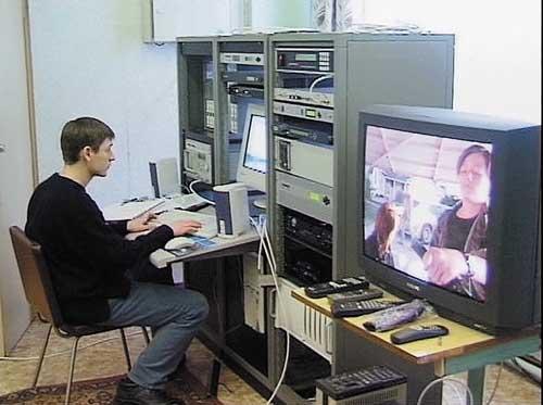 простой телепередатчик небольшой и средней мощности