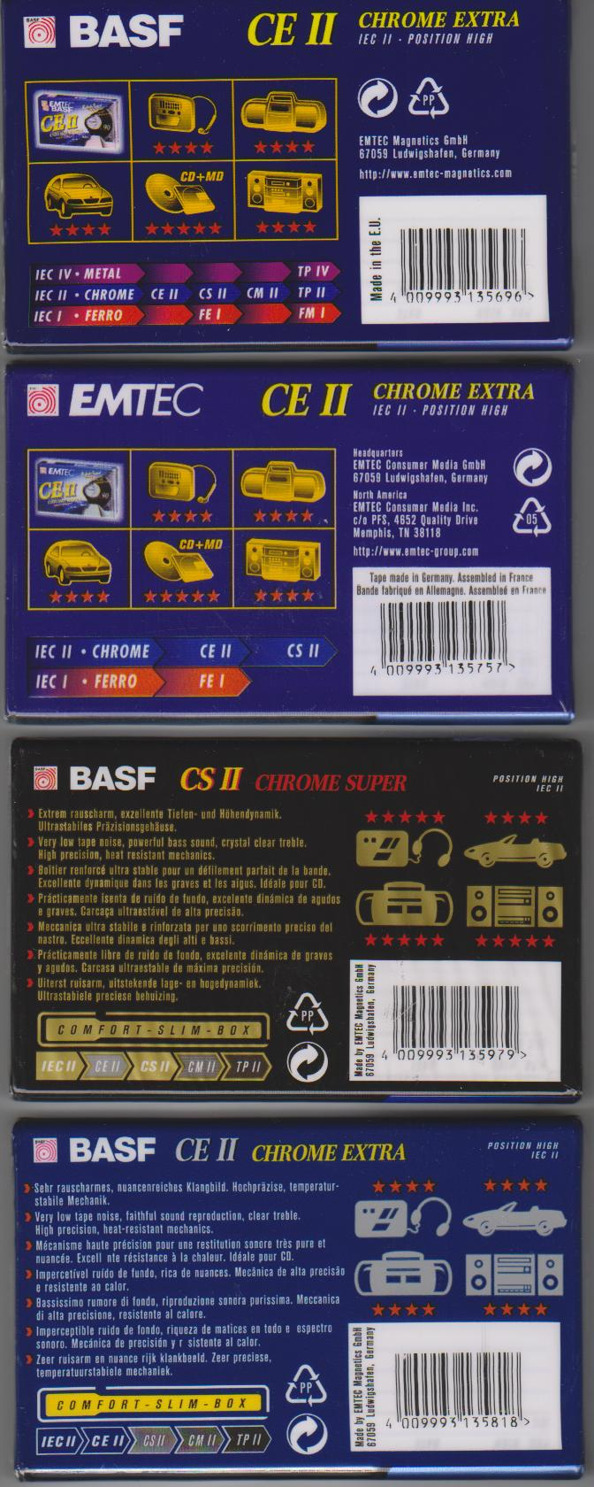 кассеты Basf