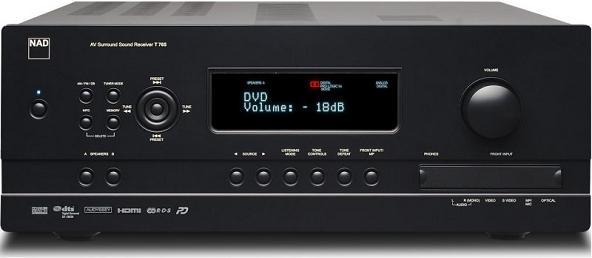 Мультирумный AV-ресивер NAD T765HD2