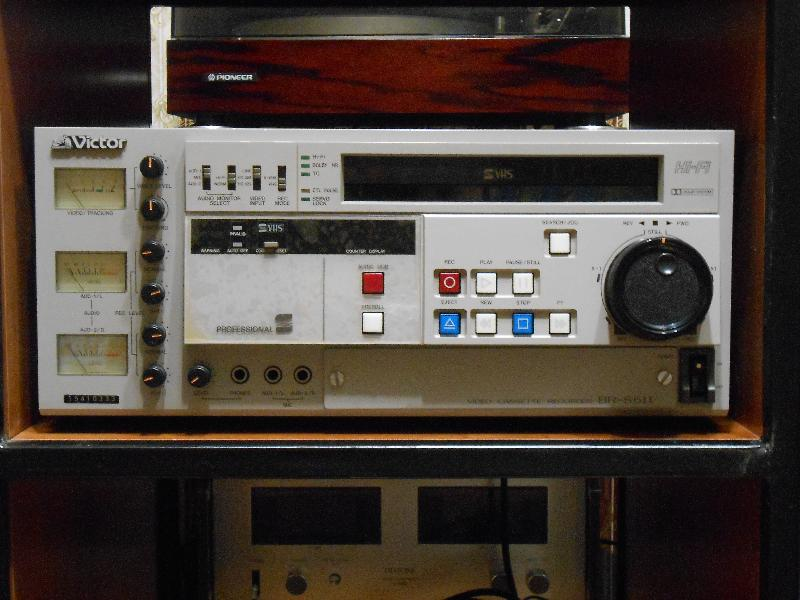 Victor BR-S611 professional S VHS