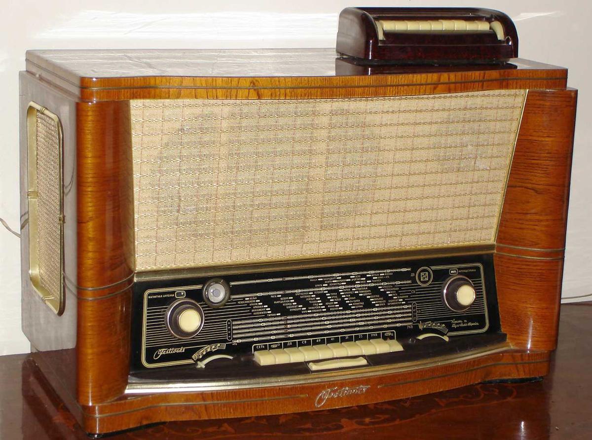 Картинка советского радио