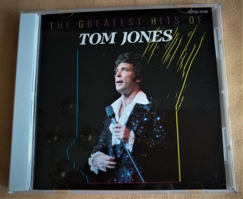 CD TOM JONES - THE GREATEST HITS OF TOM JONES