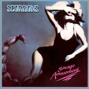 lp Scorpions  ‎– Savage Amusement