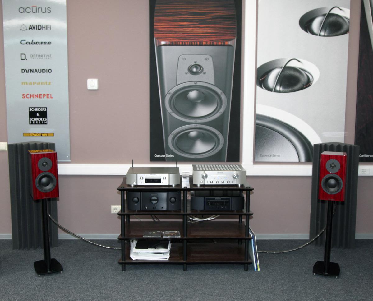 Тест Marantz ND8006, Marantz PM8006 и Dynaudio Special 40 | Аудио Hi
