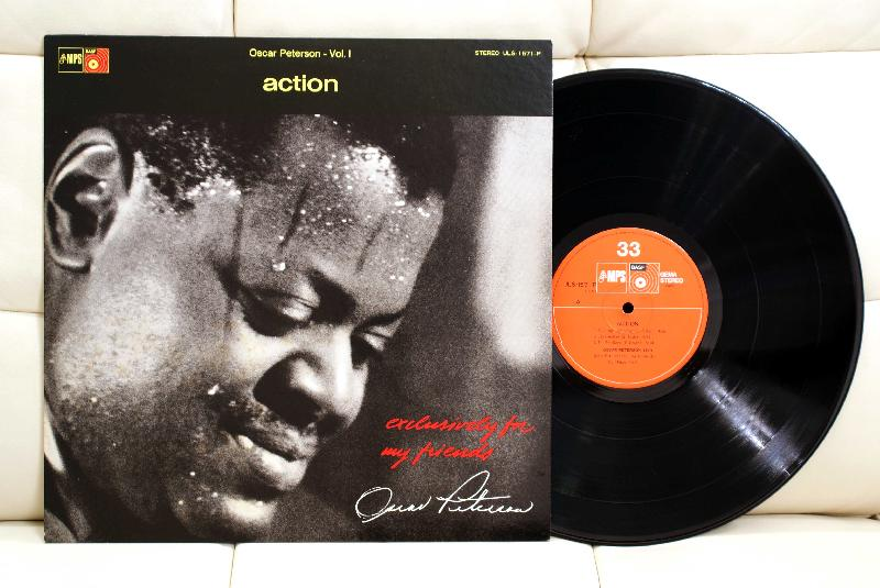 Oscar Peterson ‎– Action ‎– LP