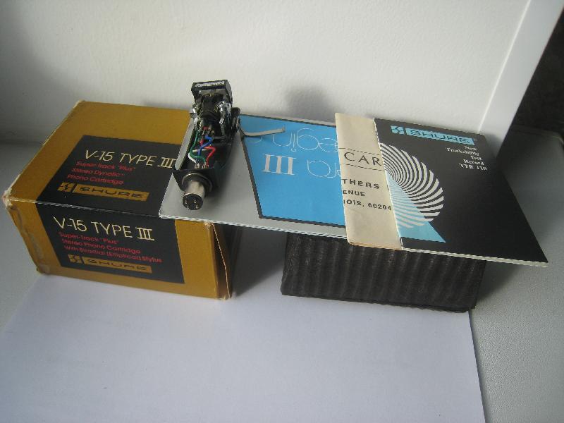 Shure V15 3 головка звукоснимателя  | Hi-Fi ru