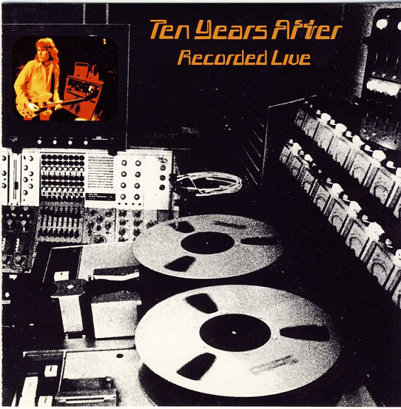 cd Ten Years After  ‎– Recorded Live