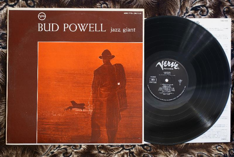 Bud Powell ‎– Jazz Giant - LP джаз пластинки