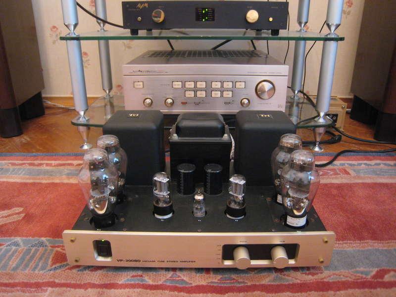 Ламповый Однотактный Усилитель Triode Vp-300Bd.  Продаю.