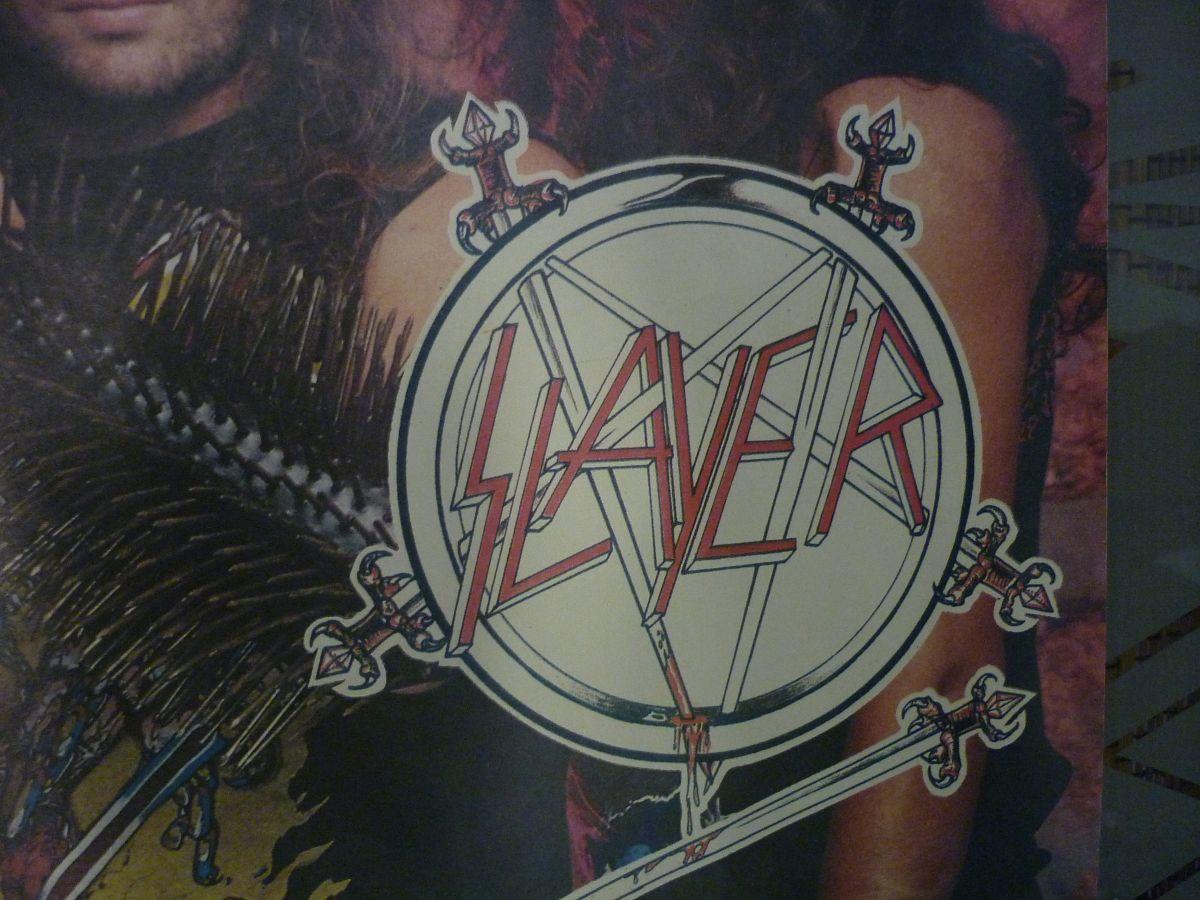 SLAYER - POSTER (ПОСТЕР/ПЛАКАТ) 1984-1985 РАРИТЕТ! | Hi-Fi ru