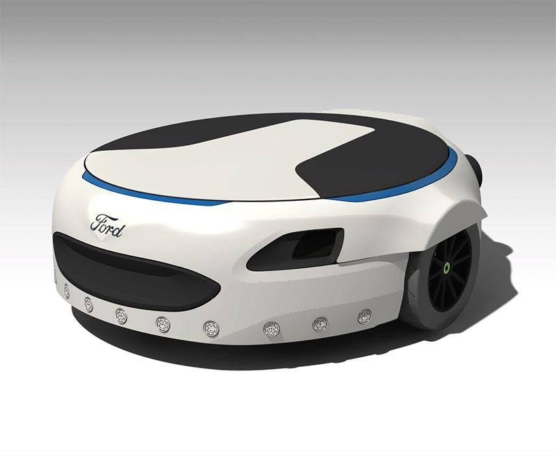 Вкомпании Форд разработали «умные» устройства для тех, кому лень идти пешком