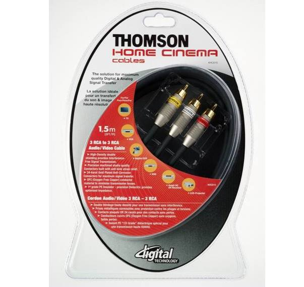 Кабели Thomson Home Cinema Cables KHC010