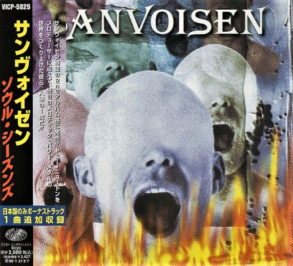 SANVOISEN - Soul Seasons / Japan CD