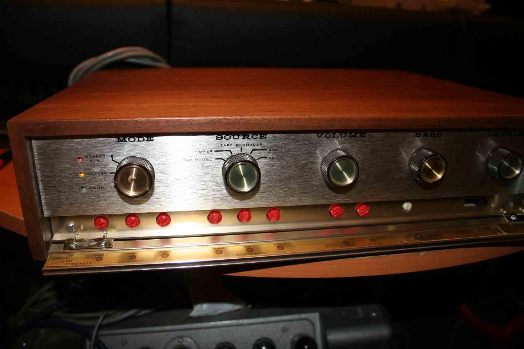 heathkit model aa 22u stereo amplifier hi. Black Bedroom Furniture Sets. Home Design Ideas