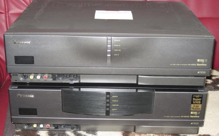 SVHS видеомагнитофон panasonic NV-HS800, Бытовая техника, ТВ и видео, Видеомагнитофоны, Красноярск