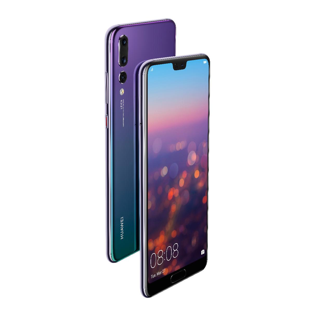 Красивый Huawei P20 Pro всумеречном цвете поступил в реализацию в Российской Федерации