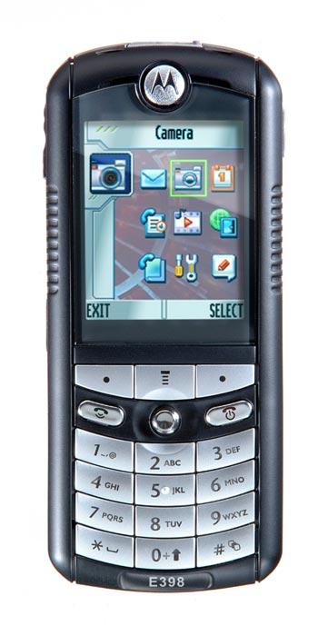 Прошивки Motorola E398