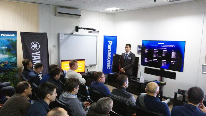 Panasonic Россия и Yamaha Music (Russia) на дилерской конференции Elittech