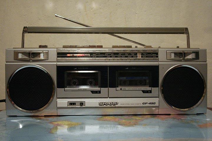 Объявления. Аудио. Каталог. магнитола Sharp GF-450 Z