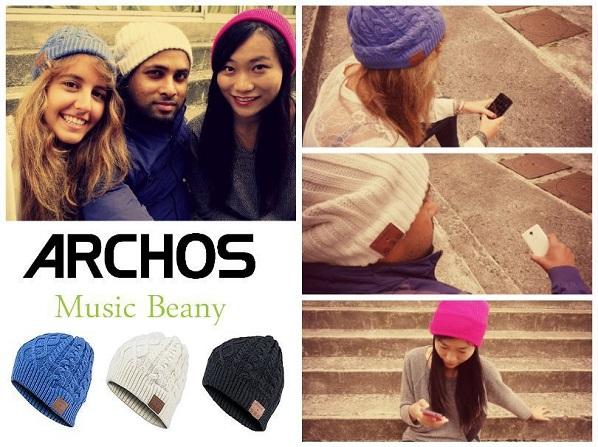 Музыкальная шапочка Archos Music Beany