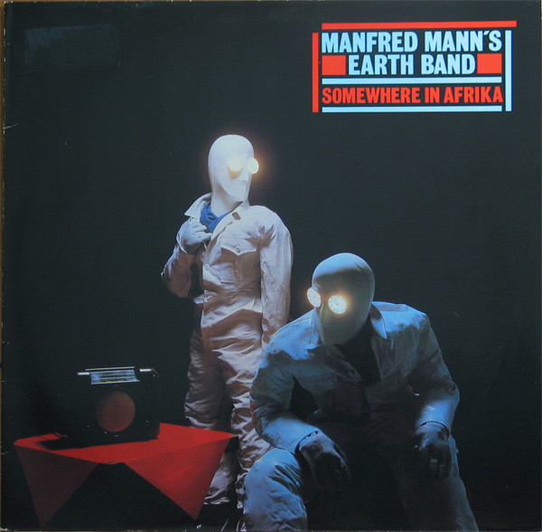 lp Manfred Mann's Earth Band  ‎– Somewhere In Afrika