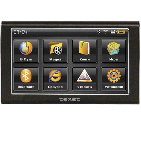 Автомобильный b gps/b навигатор b texet/b tn-606