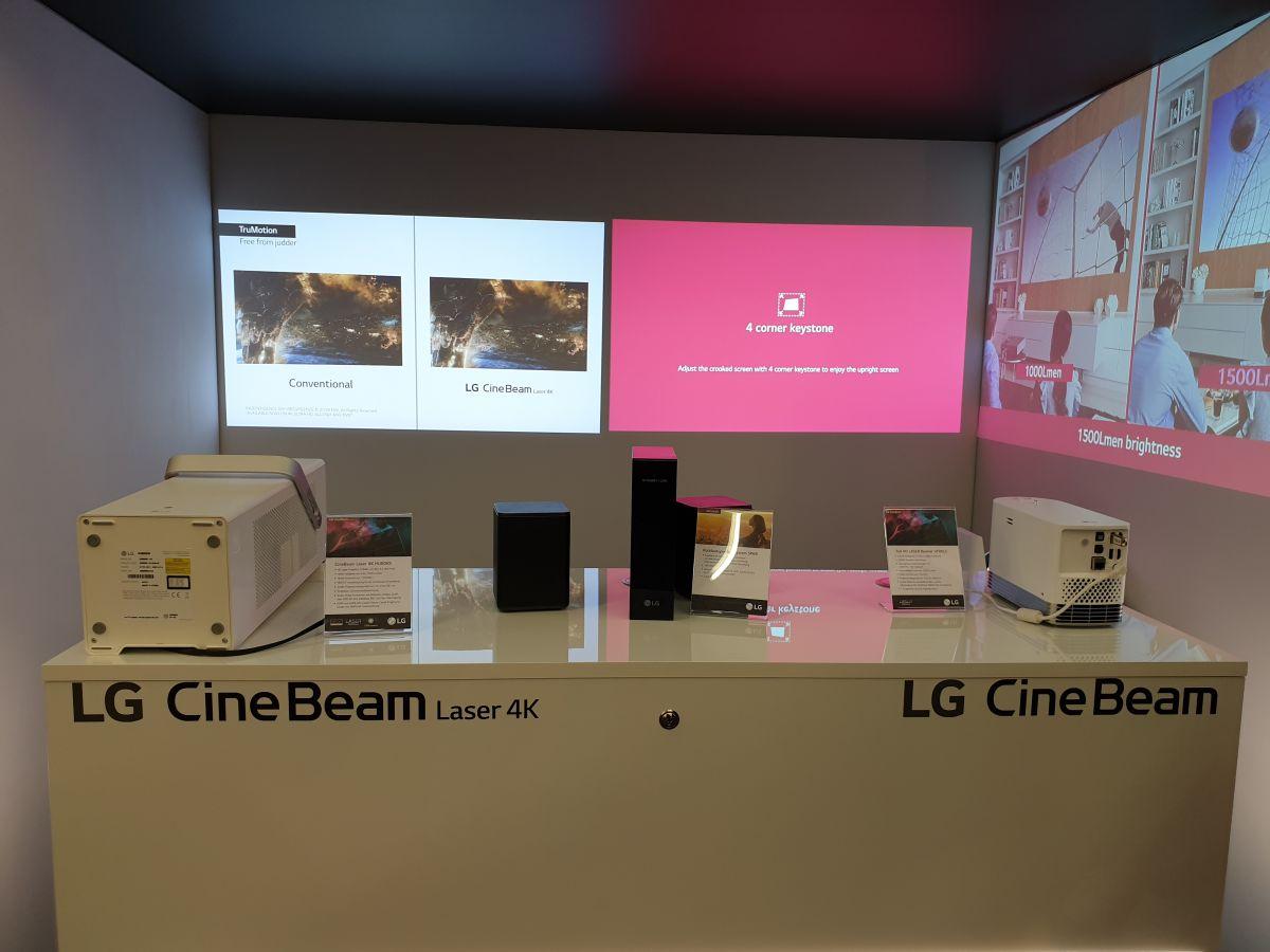 Проекторы LG CineBeam в Мюнхене   Hi-Fi ru