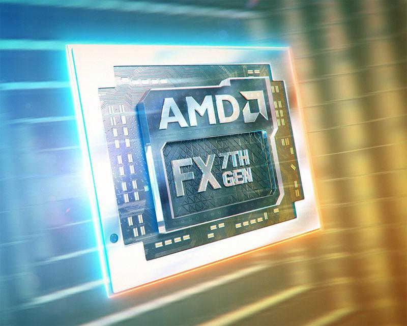 Новые мобильные процессоры AMD A-серии 7-го поколения