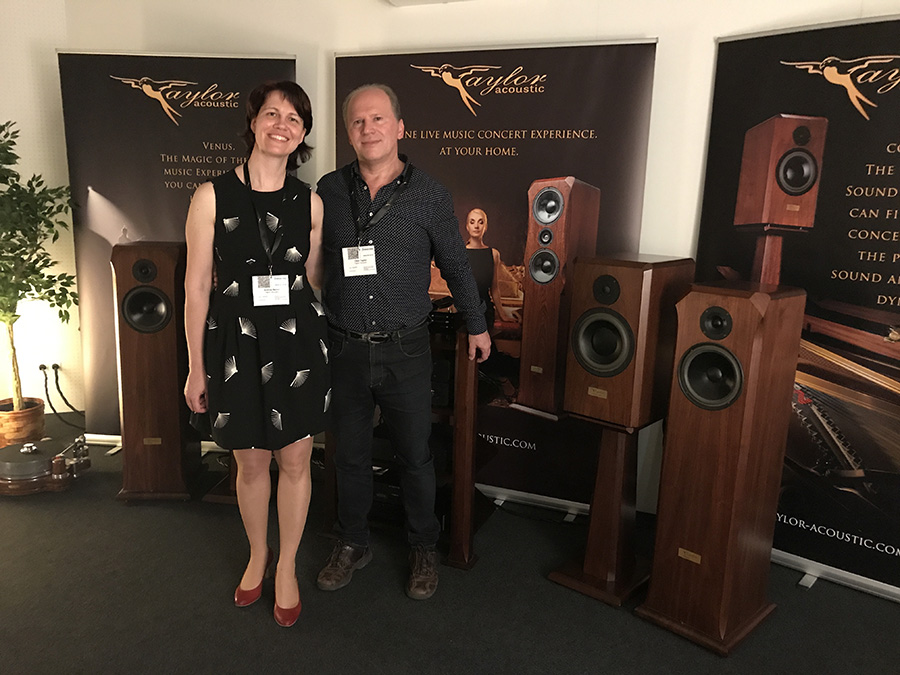 Фоторепортаж с выставки Munich High End Show 2017 - Taylor Acoustic
