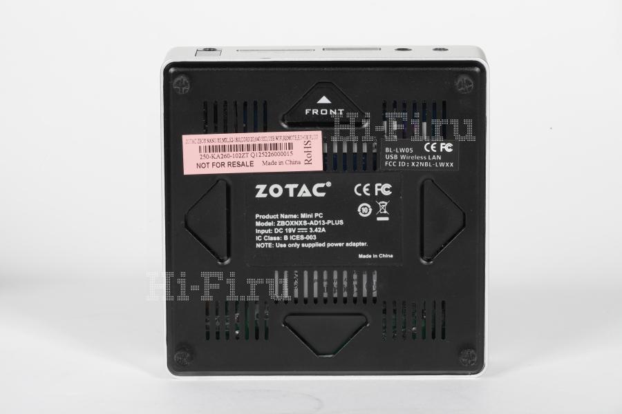 Неттоп ZOTAC ZBOX nano XS AD13 Plus