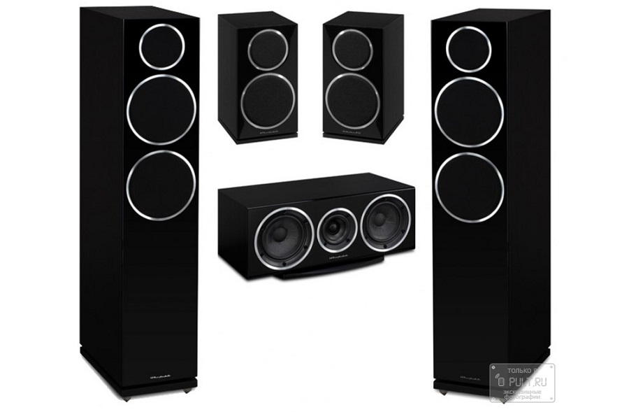 Комплект акустики Wharfedale Diamond 230 5.0 Set Black