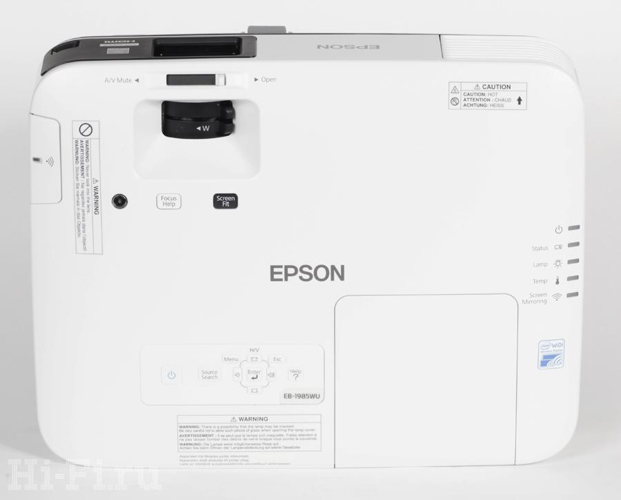 3LCD-проектор Epson EB-1985WU