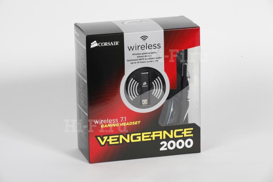 Игровая гарнитура Corsair Vengeance 2000 с поддержкой звука 7.1