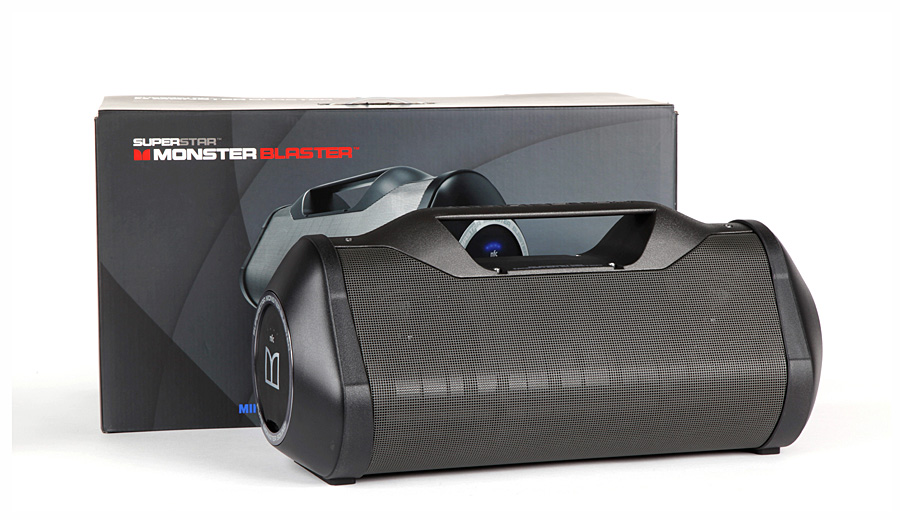 Беспроводная аудиосистема Monster SuperStar Blaster Bluetooth BoomBox