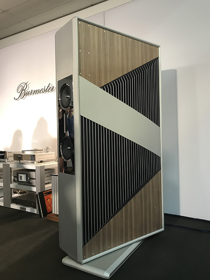 Фоторепортаж с выставки Munich High End Show 2017 - Burmester