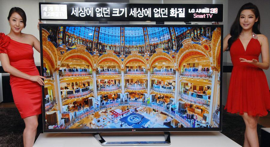 Первый 4К-телевизор LG 84LM960V