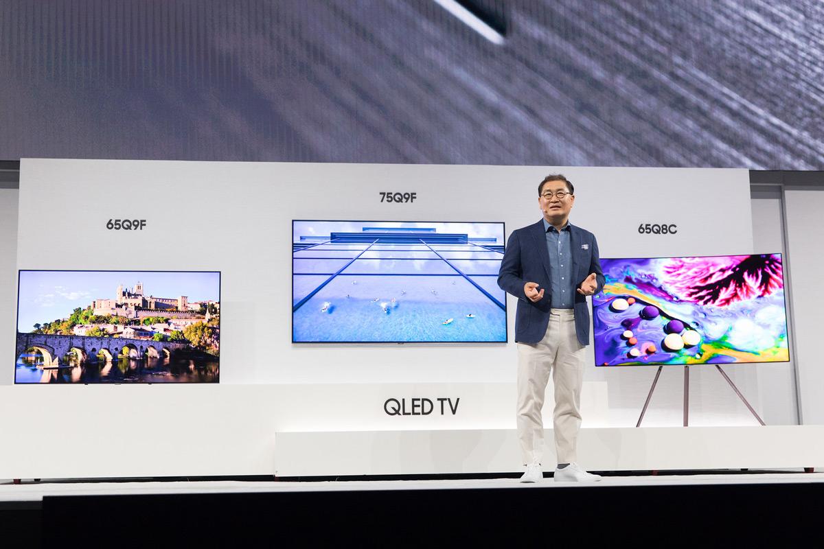 Телевизор 2018 года новые технологии samsung eisa