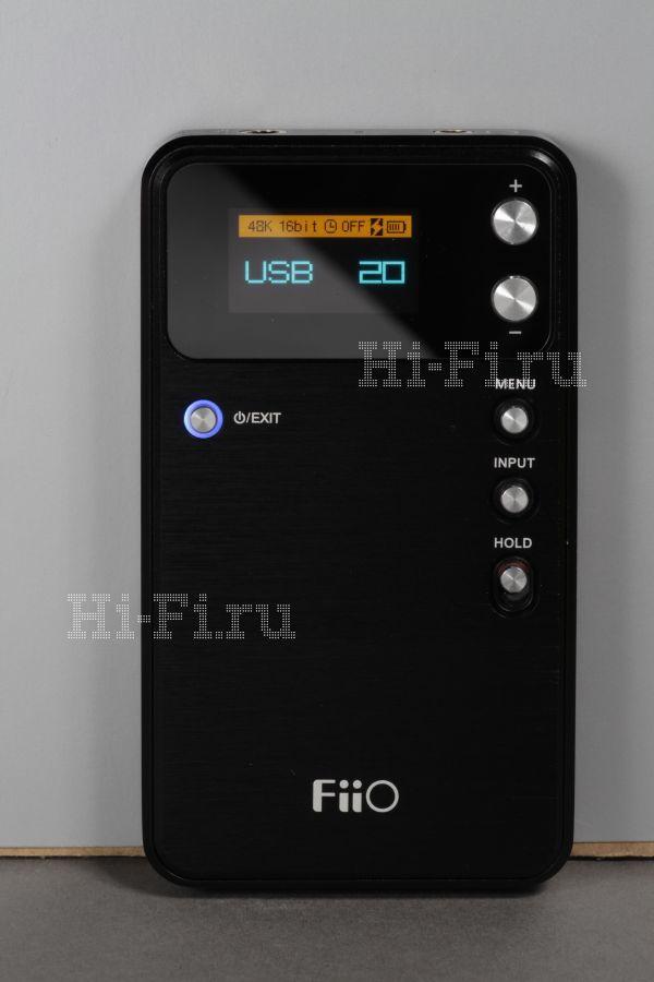 Портативный ЦАП / усилитель для наушников FiiO E17 Alpen
