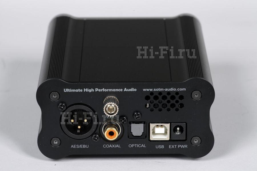 Цифровой преобразователь SOtM dX-USB HD