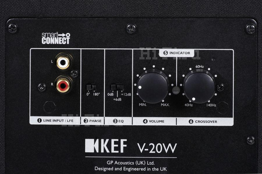 Комплект домашнего кинотеатра KEF V720W