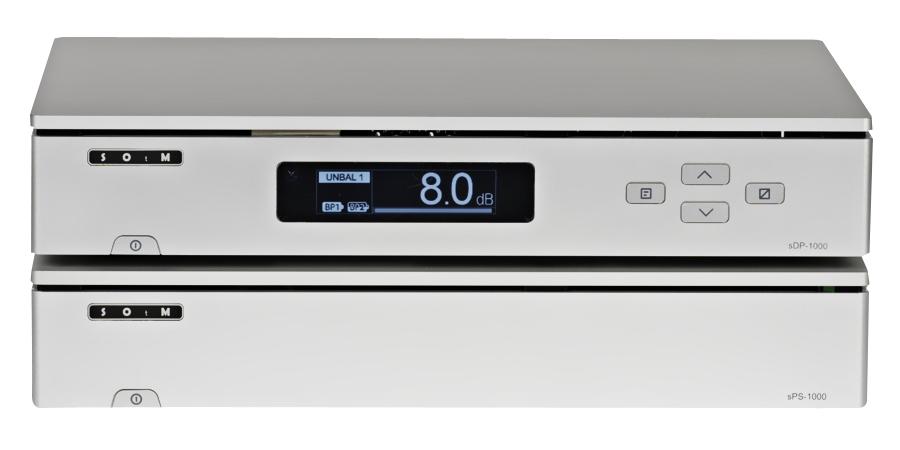 Линейный блок питания постоянного тока SOtM sPS-1000