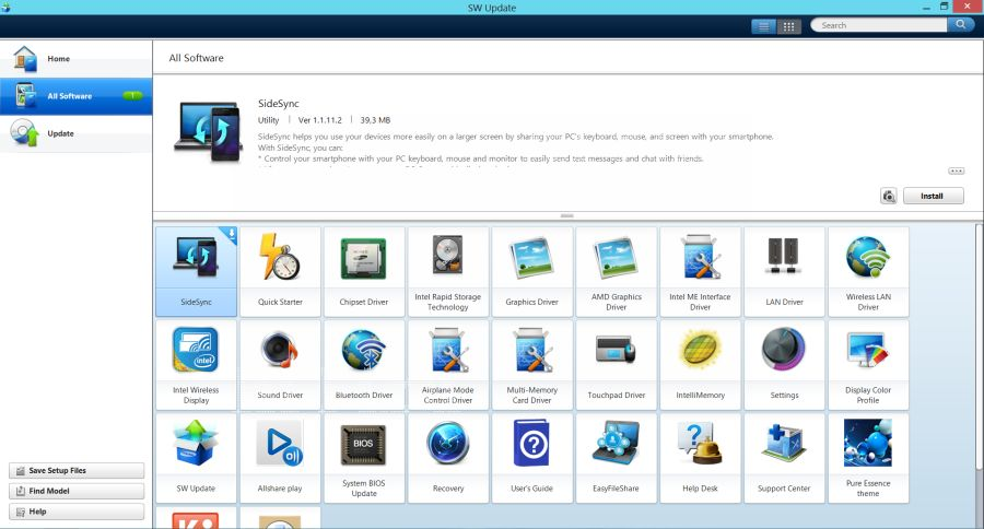Ноутбук Samsung ATIV Book 8 NP880Z5E
