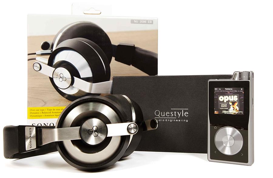 Портативный проигрыватель Questyle QP1R и наушники Final Audio Design Sonorous VI