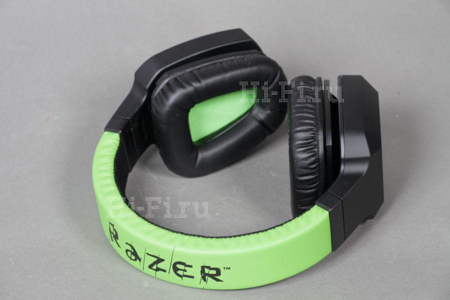 Проводная головная гарнитура Razer Electra